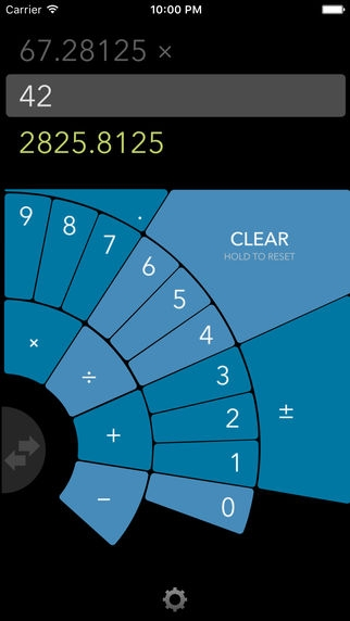 「FutureCalc: ergonomic calculator for single-handed use」のスクリーンショット 3枚目