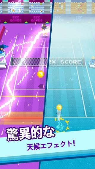 「One Tap Tennis」のスクリーンショット 3枚目