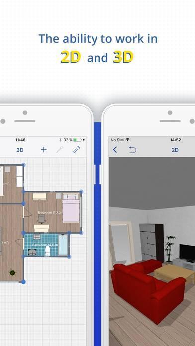 「ホームプランナー for IKEA」のスクリーンショット 3枚目