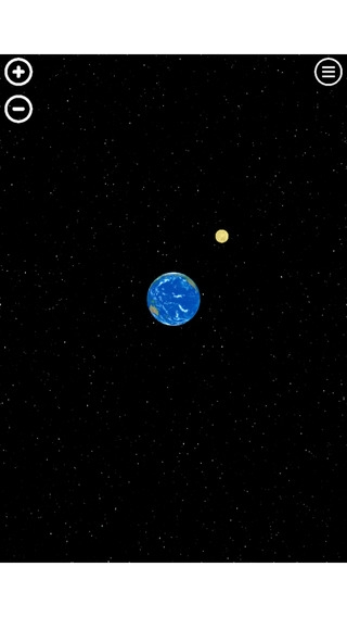 「Satellite - 人工衛星軌道シミュレーションゲーム」のスクリーンショット 1枚目