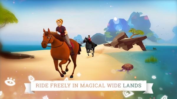 「Horse Adventure: Tale of Etria」のスクリーンショット 1枚目