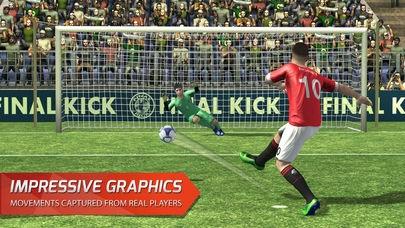 「Final Kick VR - Virtual Reality free soccer game for Google Cardboard」のスクリーンショット 1枚目
