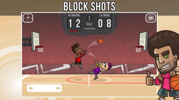 「Basketball Battle - Arcade Hoops Game (Full Court)」のスクリーンショット 3枚目