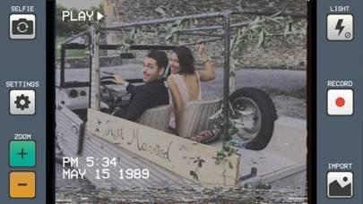 「VHS Cam - Retro Camcorder FX」のスクリーンショット 2枚目