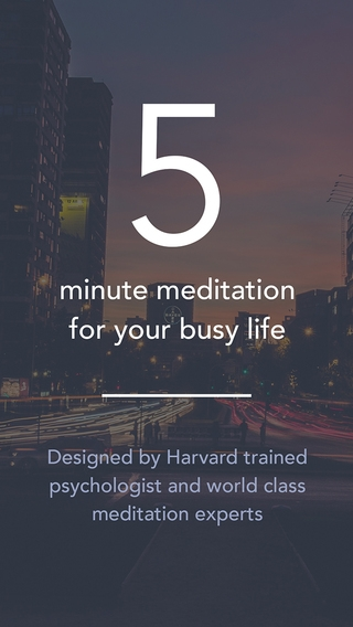 「Simple Habit - Mindfulness Meditations for Your Busy Life and Stress Relief」のスクリーンショット 2枚目