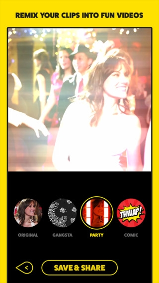 「Mixatron by Funny Or Die - Remix Your Videos With Video Filters」のスクリーンショット 1枚目