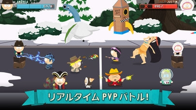 「South Park: Phone Destroyer™」のスクリーンショット 2枚目