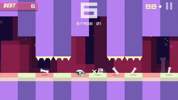 「Bonecrusher: Free Awesome Endless Skull & Bone Game」のスクリーンショット 3枚目