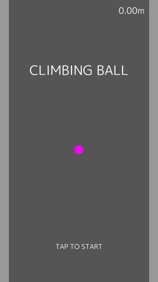 「クライミングボール - 無料暇つぶしゲーム」のスクリーンショット 1枚目
