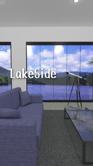 「脱出ゲーム LakeSide」のスクリーンショット 1枚目