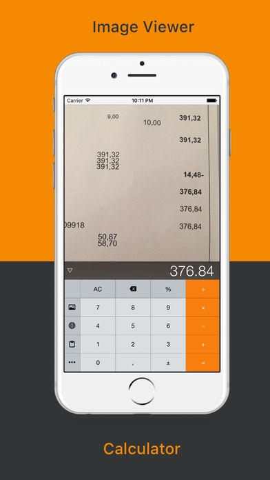 「Half a Calc - Image viewer, Browser & Calculator」のスクリーンショット 1枚目
