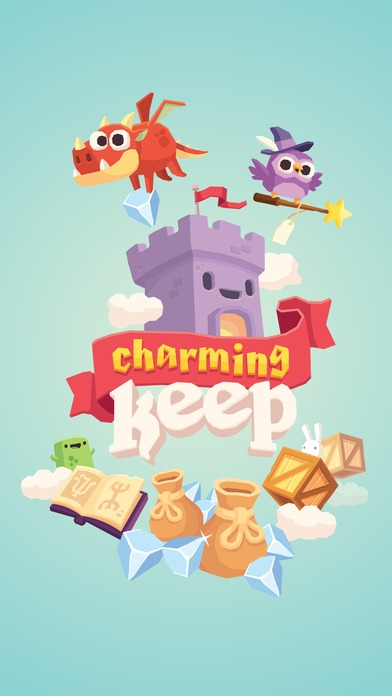 「Charming Keep - Collectable Tower Tapper」のスクリーンショット 1枚目