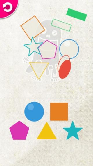 「コバケのパズル - 幼児向けのシンプルな形合わせゲーム」のスクリーンショット 3枚目