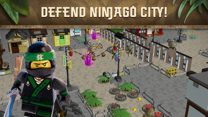 「THE LEGO® NINJAGO® MOVIE™ app」のスクリーンショット 1枚目