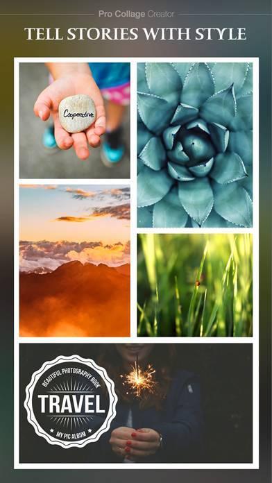 「Pro Collage Creator Max - 写真のコラージュエディタ&レイアウト&ビューティーカメラ・ステッカー」のスクリーンショット 3枚目