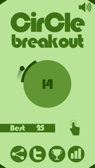 「Circle Breakout」のスクリーンショット 1枚目