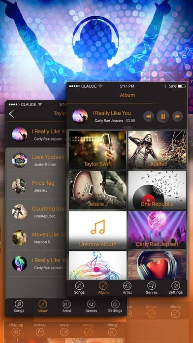 「音楽プレーヤー - MP3プレーヤー - 無料の音楽アプリ!ミュージッ」のスクリーンショット 3枚目