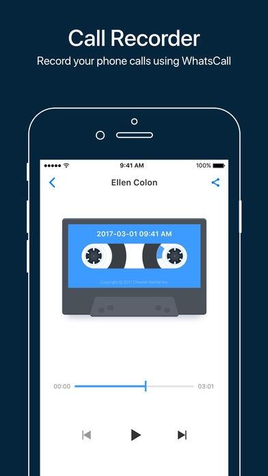 「WhatsCall-Calling App+Recorder」のスクリーンショット 2枚目