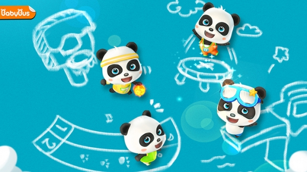 「パンダのスポーツ大会-BabyBus幼児・子ども向け運動会」のスクリーンショット 1枚目