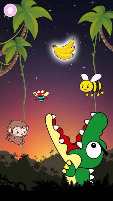 「タッチで遊ぼう!おさるランド - 子ども・赤ちゃん・幼児向けの無料ゲームアプリ」のスクリーンショット 2枚目