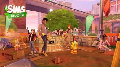 「The Sims シムズ ポケット」のスクリーンショット 1枚目