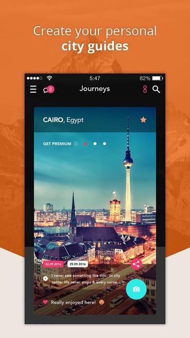 「LifePinner - Pin Your Travel Map」のスクリーンショット 3枚目
