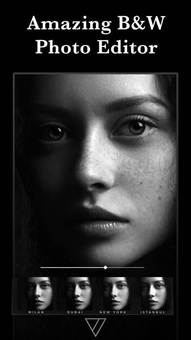 「Carbon - 白黒写真エディタ」のスクリーンショット 1枚目