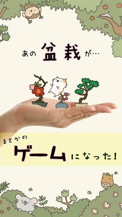 「女子に人気ゲーム 『盆栽あつめ 』」のスクリーンショット 1枚目