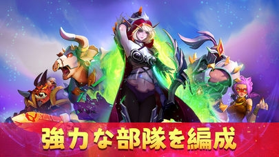 「Mighty Party: Heroes Clash」のスクリーンショット 1枚目