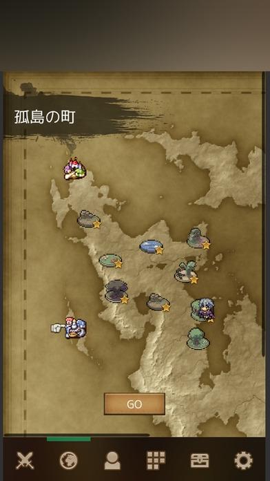 「バトル魂2 - 放置RPG」のスクリーンショット 2枚目