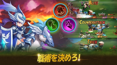 「Tactics Squad: Dungeon Heroes」のスクリーンショット 2枚目