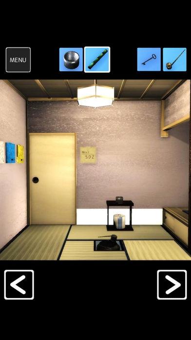 「脱出ゲーム 茶室」のスクリーンショット 3枚目