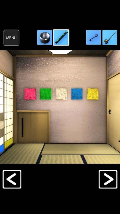 「脱出ゲーム 茶室」のスクリーンショット 2枚目