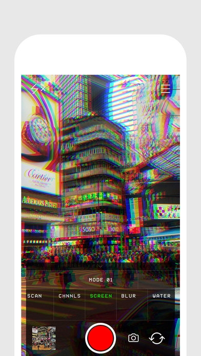 「Glitch Cam — realtime filters from Glitché」のスクリーンショット 2枚目