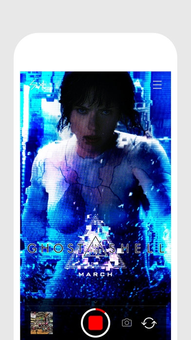 「Glitch Cam — realtime filters from Glitché」のスクリーンショット 1枚目