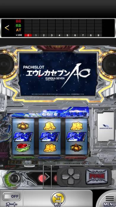 「パチスロエウレカセブンAO【777NEXT】」のスクリーンショット 2枚目