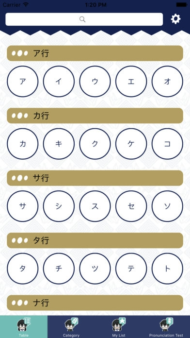 「Katakana Dictionary」のスクリーンショット 1枚目