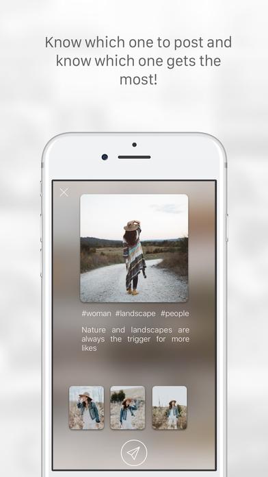 「Lisa: Photo Assistant for Instagram」のスクリーンショット 3枚目