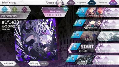 「Arcaea」のスクリーンショット 3枚目
