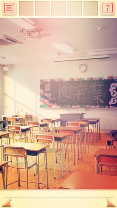 「脱出ゲーム 卒業 〜最後の教室〜」のスクリーンショット 2枚目