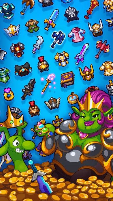 「Dash Quest Heroes」のスクリーンショット 3枚目
