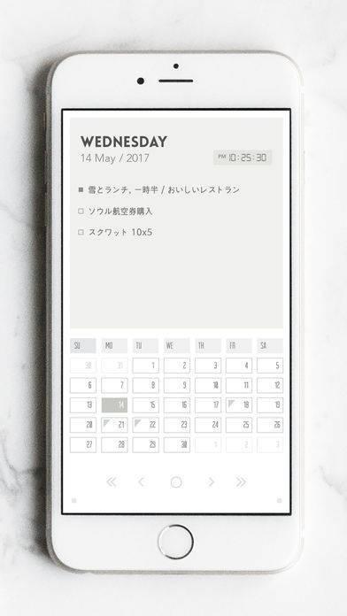 「Flink - Calendar Note」のスクリーンショット 2枚目