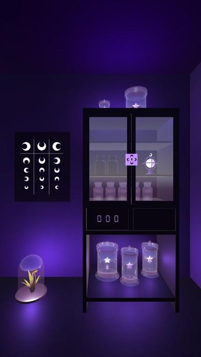 「脱出ゲーム 月の研究所 月が照らす不思議な研究所からの脱出」のスクリーンショット 2枚目