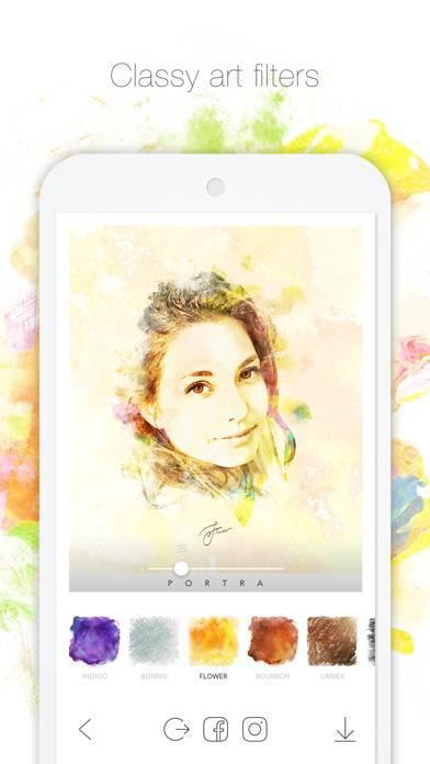 「PORTRA - 胸キュン!アートフィルター」のスクリーンショット 3枚目