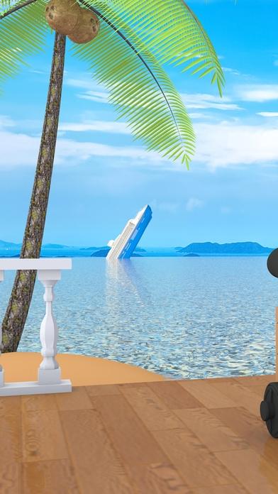 「脱出ゲーム Aloha ハワイの海に浮かぶ家」のスクリーンショット 2枚目
