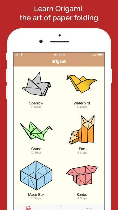 「Learn How to Make Origami」のスクリーンショット 2枚目