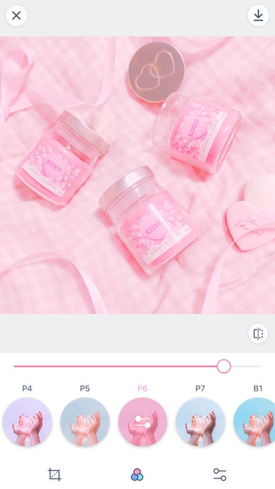 「PinksCam - Kawaii self camera」のスクリーンショット 3枚目