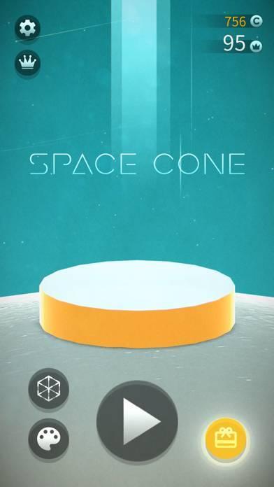 「宇宙筍 Space Cone」のスクリーンショット 2枚目