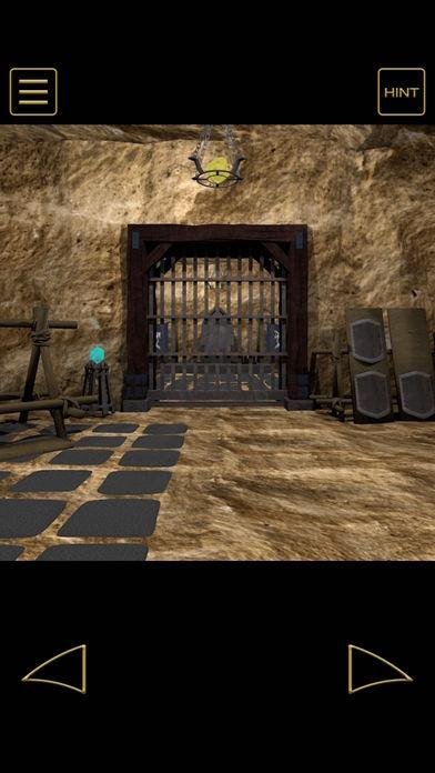 「脱出ゲーム - 地賊団アジトからの脱出」のスクリーンショット 2枚目
