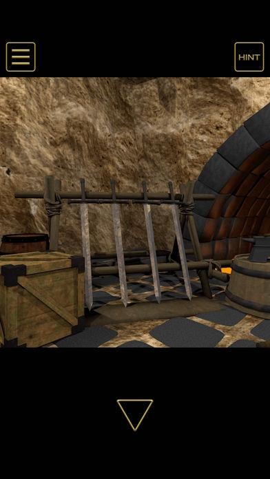 「脱出ゲーム - 地賊団アジトからの脱出」のスクリーンショット 3枚目